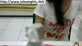 台灣林蕊顯示山雀在Skype