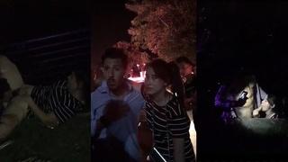 「成都蘭桂坊野戰」瘋傳片段!強國超騷女當眾「吃洋屌」老外落跑...女的還下跪求帶走!!