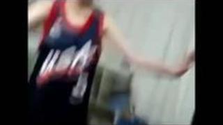 【個人撮影】 運動部の先輩とSEXする女子高生のネット流出映像 スマホ撮影