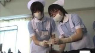 ラテックス手袋での看護師の治療