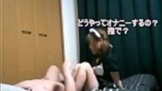 激可愛い!プチS めめちゃん♪ ロリっ子メイドと短小M男