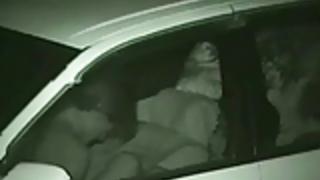 後部座席盗撮セックス